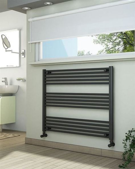 View technical details and pictures of ADIGE Wide High Anthracite Towel Radiator and purchase online for next business day delivery!