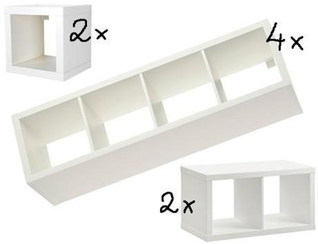 Aus Kallax Regalen Einfach Selber Machen Familienbett Bauen Bett Bauen Familien Bett