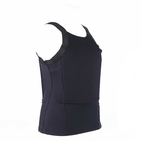 Ultra Thin Concealed Bulletproof Vest Kevlar T-shirt Body Armor NIJ Level IIIA. Concealable body armor vests are designed to protect the users torso from pistol and handgun fire while remaining inconspicuous to others.