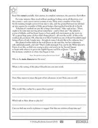 Image Result For Unseen Comprehension For Grade 5 Reading