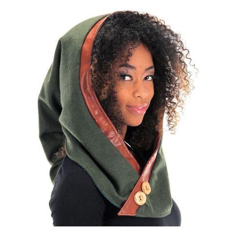 Photo of Adult Woodland Elf Plush Hood