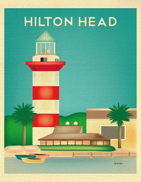 Hilton Head South Carolina Hilton Head Art Print Gifts Personalize Art