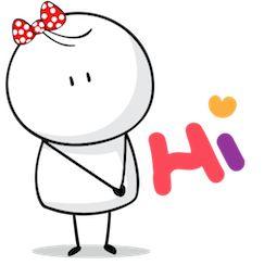 Facebook / Messenger Love, Bigli Migli sticker #1