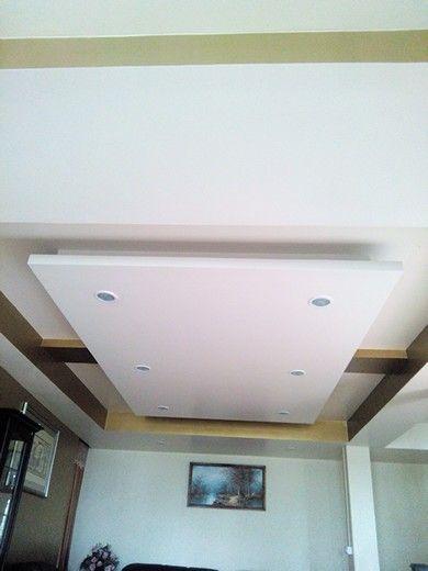 Ceiling gypsum board I 3 home decor Pinterest