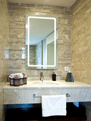 The Aria Led Lighted Mirror By Electric Mirror Mirror With Lights Led Mirror Bathroom Electric Mirror