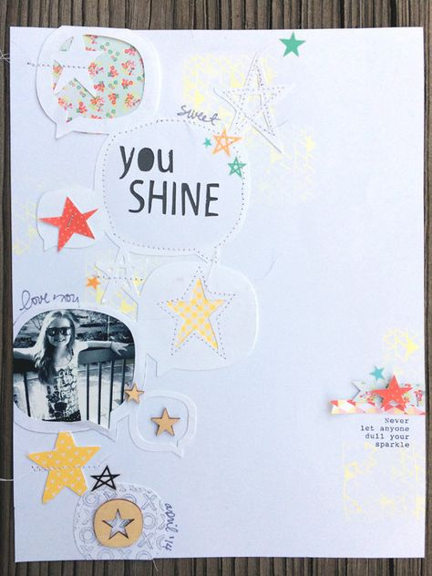You Shine by iscrapmyworld at @Studio_Calico