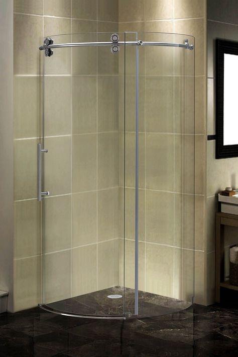 Orbitus 35 5 X 75 Round Sliding Shower Enclosure