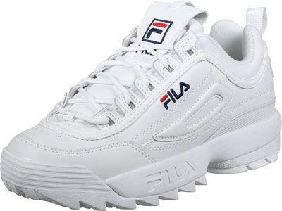 Fila Disruptor Low W schoenen wit