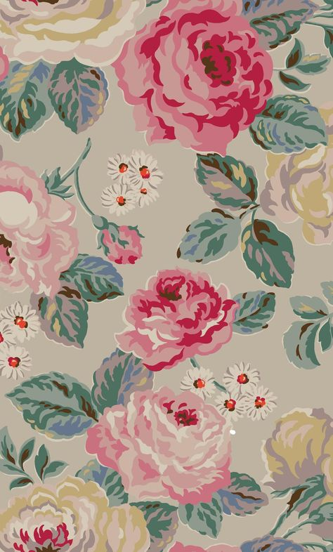 Forest Rose | Classic roses, reinterpreted. We've picked out pretty details with fresh, unusual colours for a pretty twist on our favourite flowers | Cath Kidston Autumn Winter 2016 |