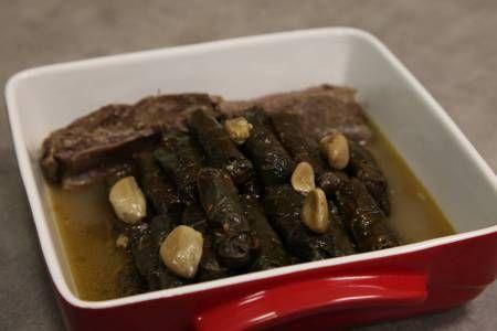 ورق عنب محشي مع لأضلاع من الشيف محمد أورفه لي Recipes Food Dolma