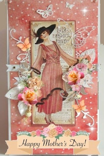 Happy Mothers Day 2020 From Beleev Trendme Net Art Deco Cards Cards Handmade Graphic 45