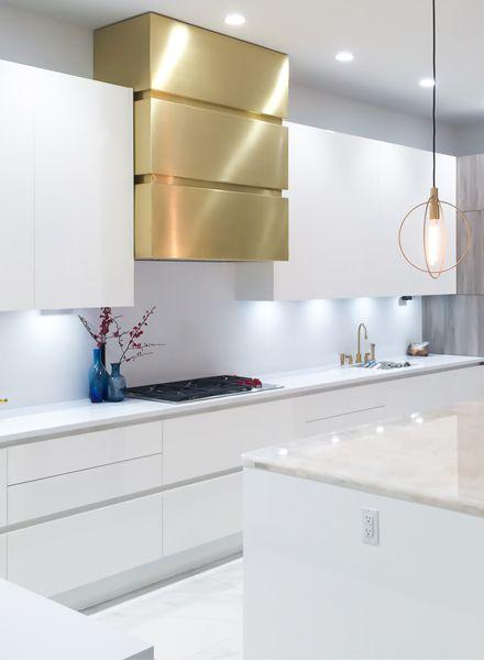 Brooklyn Range Hood Modern Kitchen Hood Luxury Kitchen Design