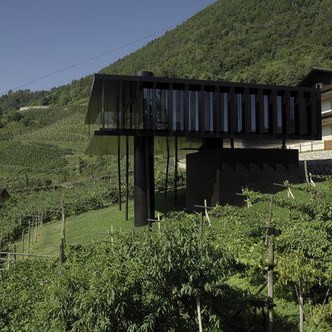 Casa Höller Lana, Italy Höller Klotzner Architetti photo - minecraft küche bauen