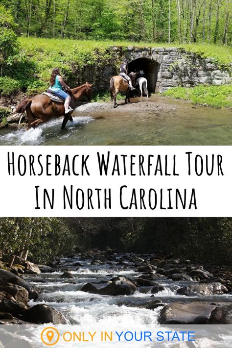 Shawarma Wraps with Green Tahini and Feta. For a unique horseback adventure check out this waterfall tour in North Carolina. Cherokee North Carolina, Cherokee Nc, North Carolina Vacations, North Carolina Mountains, South Carolina, Highlands North Carolina, Riding Stables, Horse Riding, Riding Gear