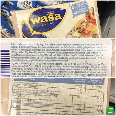 Pan Wasa Fibra Supermercado Mercadona P V P 2 Euros