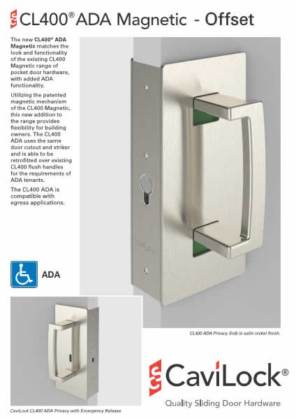 The New Cl400 Ada Magnetic Matches The Look And Functionality Of The Existing Cl400 Magnetic Range Of Pocket Door H Pocket Door Hardware Hardware Pocket Doors