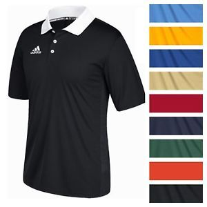 3ad397fb597c9 adidas Men's Game Built CLIMALITE Polo Athletic Coaching Casual Golf ...