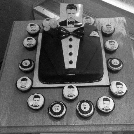 Justin Timberlake Birthday Cake