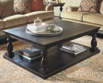 Mallacar Coffee Table By Ashley Homestore Black Coffee Table