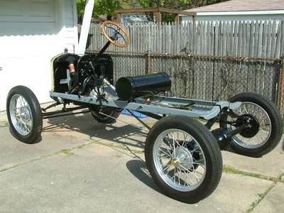 Building A Model T Speedster 1917 Ford Model T Restored Chassis