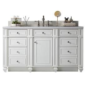 James Martin Vanities Bristol 60 In Cottage White Single Sink