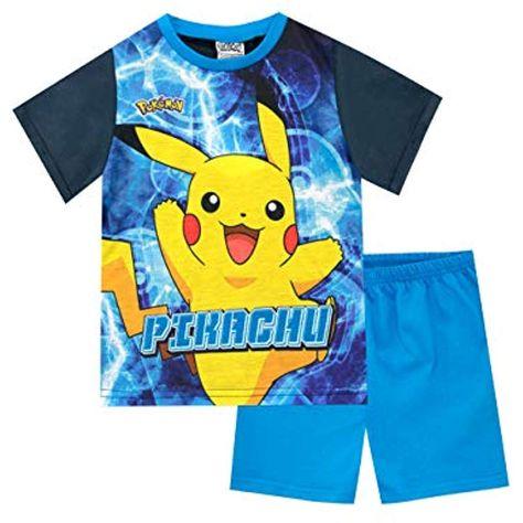 garantía limitada amplia selección sección especial Pokèmon Pijamas de Manga Corta para niños Pikachu #Ropa #Niño ...