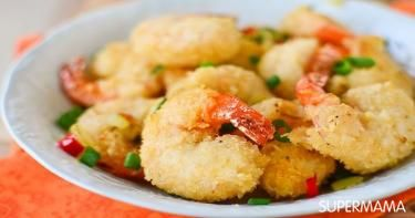 طريقة عمل جمبري بانيه Recipe Fried Shrimp Seafood Recipes Cooking Recipes