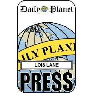Lois Lane Press Pass Daily Planet Office Products