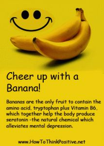 Cheer up with a Banana!  #cheerup #motivation #healthyeating