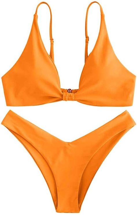 Top rated Amazon Bikinis offer comfort, great styles for a low price. These are some of the best bikinis on Amazon I could find! #bikini #bikiniswimwear #swimwear #bikiniphotos  #bathingsuit #bathingsuitforwomen #bathingsuitpictureideas #bathingsuittop #bandeau #polkadot #amazon #amazonmusthaes #amazonfinds #amazonfashion #cutebikinioutfits #cutebikini #highwaist
