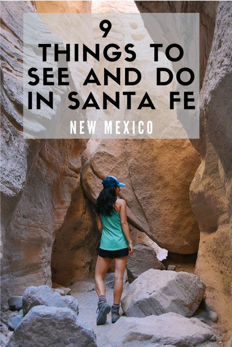 9 Things to See and Do in Santa Fe, New Mexico New Mexico Vacation, New Mexico Road Trip, Travel New Mexico, Arizona Road Trip, Us Road Trip, Arizona Travel, Sante Fe New Mexico, New Mexico Santa Fe, Taos New Mexico