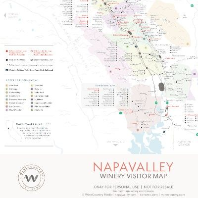 Napa Valley Maps