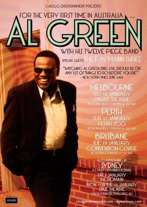 Al Green 2010 Al Green Time In Australia Special Guest