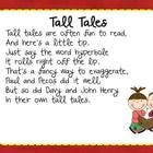 Tall tales linked to social studies.