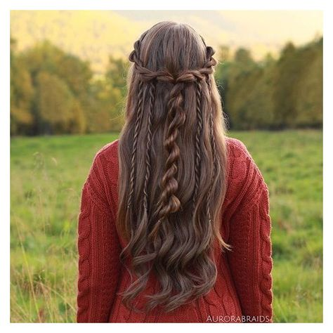 The best thing about braids: There are so many ways you can wear them. Rock yours in a chignon,wrapp Pretty Hairstyles, Braided Hairstyles, Wedding Hairstyles, School Hairstyles, Updo Hairstyle, Hairstyle Ideas, Braided Updo, Teenage Hairstyles, Braid Hair