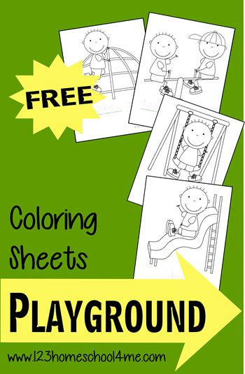 Free Playground Coloring Sheets For Kids Coloring Sheets For Kids Coloring Sheets Coloring For Kids