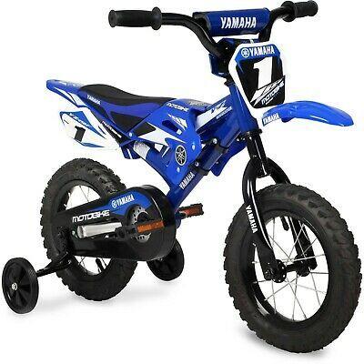 Details About Moto Child Bmx Bike 12 Motocross Style Seat Blue