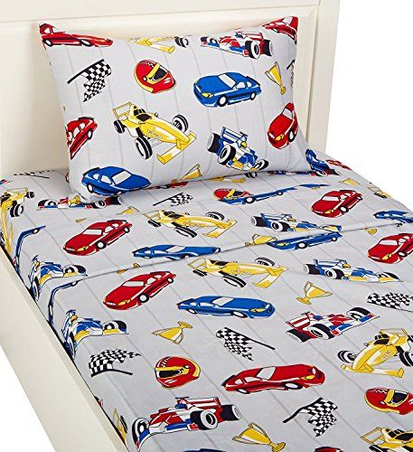 Planes Cars and Boats Frenchie Mini Couture Fitted Crib Sheet Boy