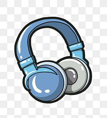 Cartoon One Earphone Illustration Computer Headset Happy Happy Headphones Headphones Outdoor Dynamic Png Transparent Clipart Image And Psd File For Free Down Computer Headsets Music Clipart Cartoon Clip Art