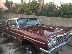 1964 Chevy Impala Lowrider 64 For Sale In Azusa Ca Lowriders For Sale Impala For Sale Impala