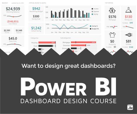 Power BI Dashboard Design Course