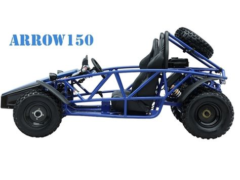 ARROW150 150CC, Air Cooled, 4-Stroke, 1-Cylinder, Automatic With Reverse