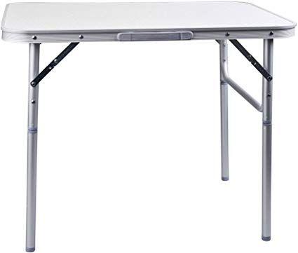 Amazonsmile Aluminium Klapptisch Campingtisch 75x55cm Gartentisch