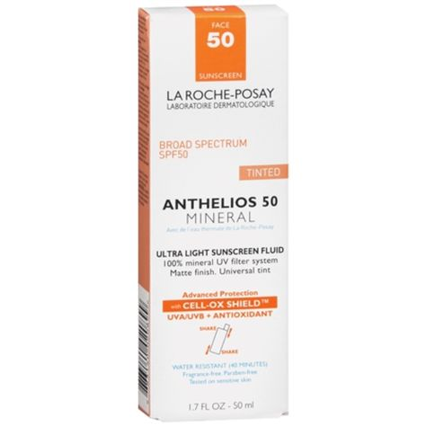 I M Learning All About La Roche Posay Anthelios Tinted Mineral