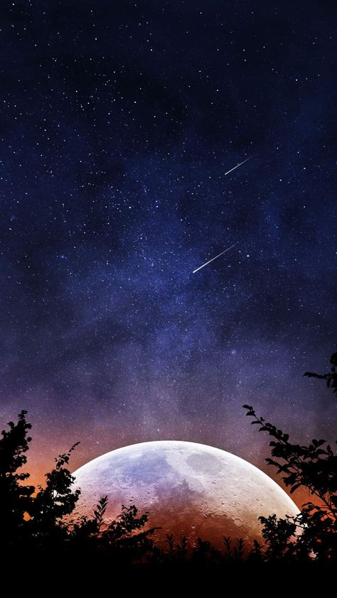 Supermoon iPhone Wallpaper - iPhone Wallpapers