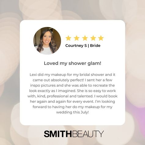 "SmithBeauty on Instagram: ""I have the best clients! 😍 #njmua #njmakeupartist #makeup #bride #njbride #njwedding #testimonial #ridgewoodnj #nutleynj #montclairnj #mua"""