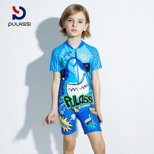 816f82e335 Plasch children's swimwear men's big boy boy warm sunscreen baby swimwear  conjoined boy swimwear children