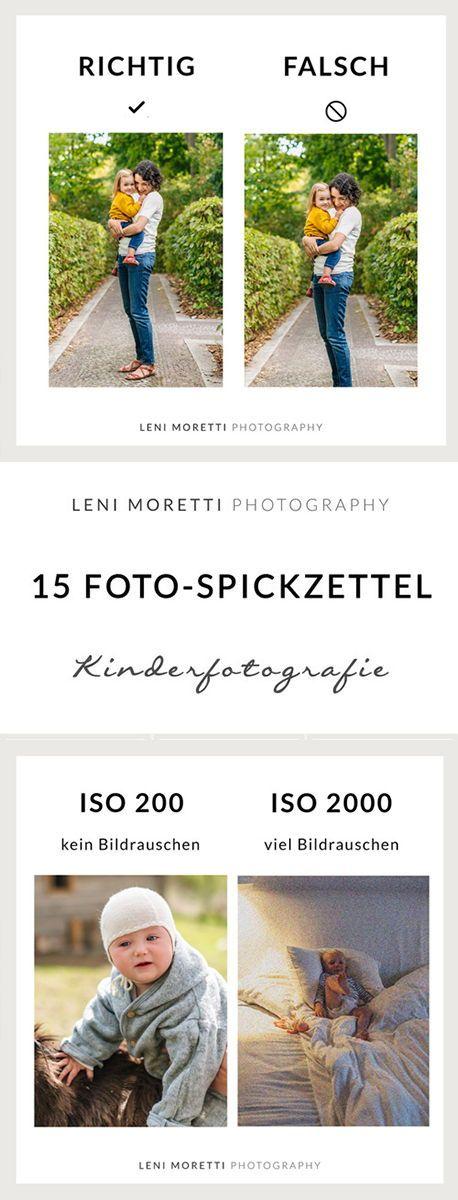 15 Foto-Spickzettel für Blende, Belichtungszeit, ISO und Bildgestaltung. Diese könnt Ihr Euch auch als eBook/PDF kostenlos herunterladen! © lenimoretti.com #fotografie #spickzettel #cheatsheet #kinderfotografie