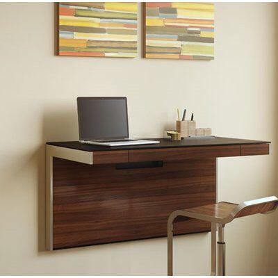 Sequel Glass Floating Desk Floating Desk Furniture Office