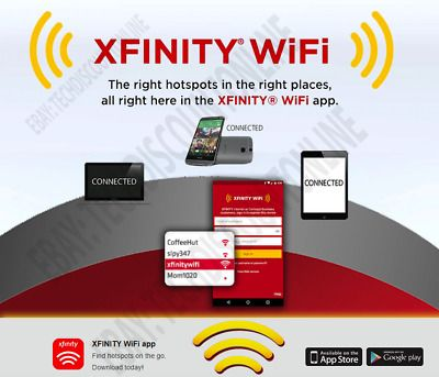 Sponsored Xfinity Wifi Hotspot Internet Access 12 Months Access End Monthly Payments In 2020 Hotspot Internet Hotspot Wifi Wifi Internet